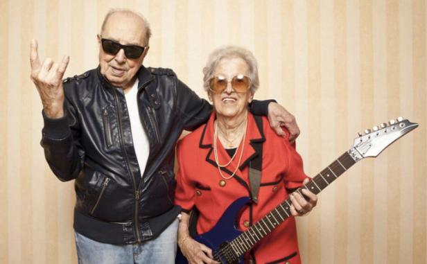 Adultos mayores que se sienten mejor